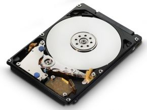 320GB 2,5 inch SATA harddisk