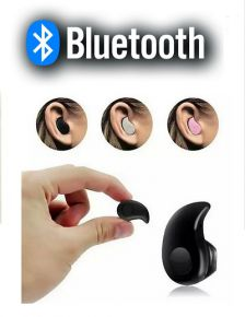 Draadloze Mini Bluetooth Headset - In-Oor Zwart