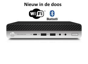 HP Prodesk 600 G5 desktop mini-pc i3-9100T (Nieuw)