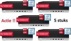5x HP Prodesk 600 G5 SFF (Nieuw)
