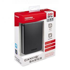 Toshiba 500GB externe harddisk